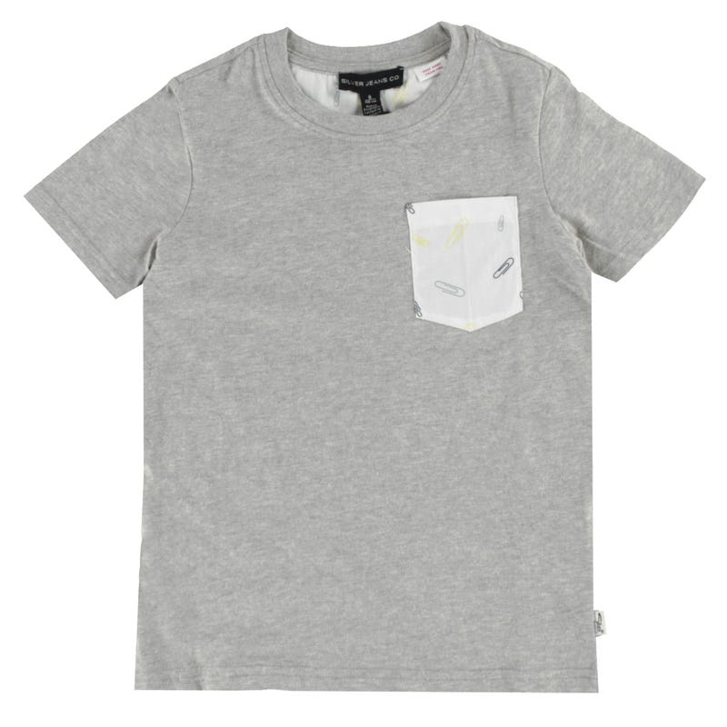 Paper Clips Pocket T-shirt 4-7