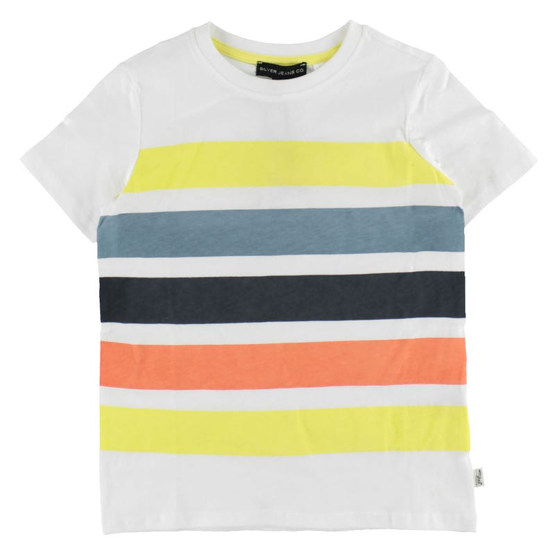 Colored Striped T-shirt 4-7