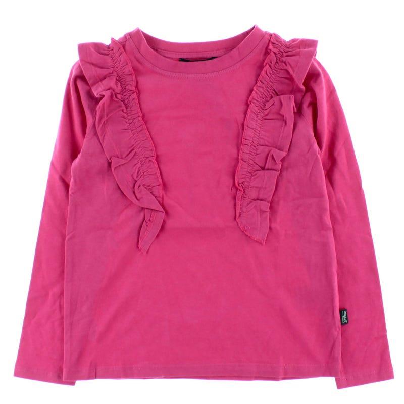 T-Shirt Manches Longues Volants 4-6ans
