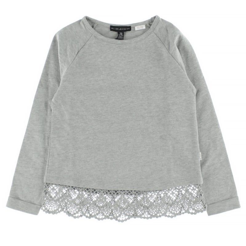 Lace Sweatshirt 7-16