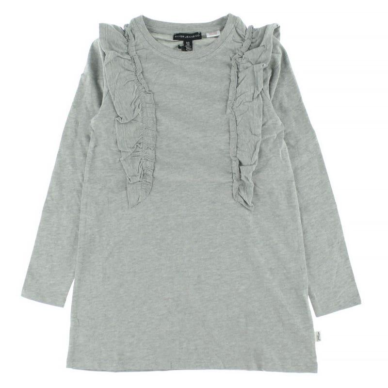Frill L/S Dress 4-6x