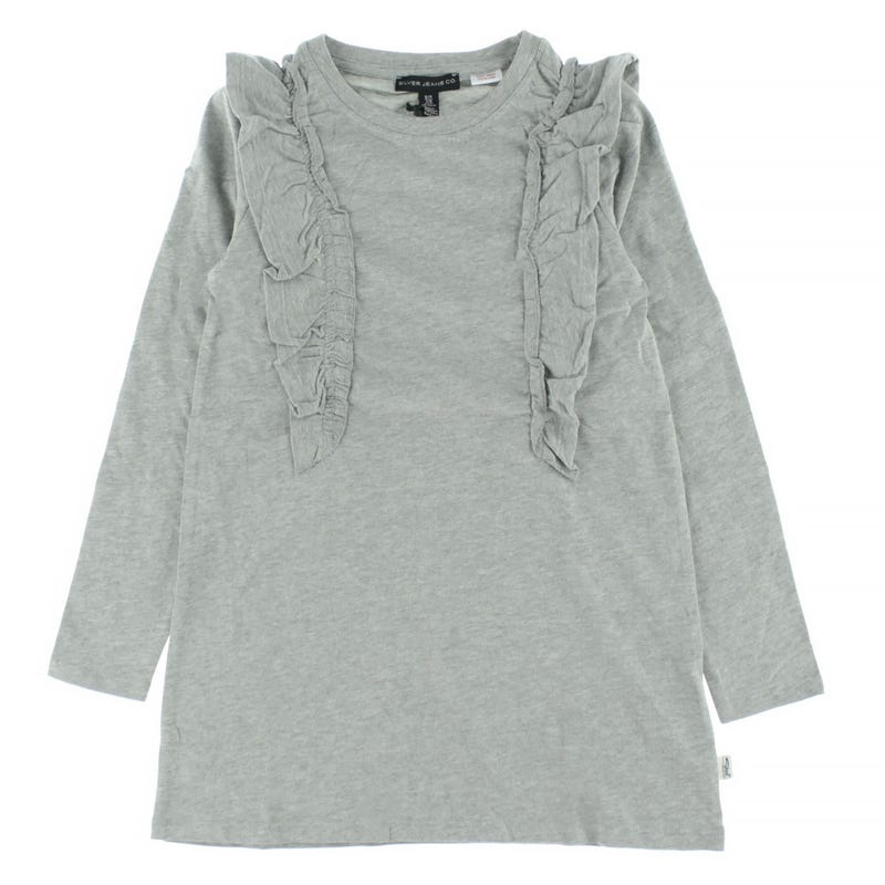 Robe Manches Longues Volants 7-16ans