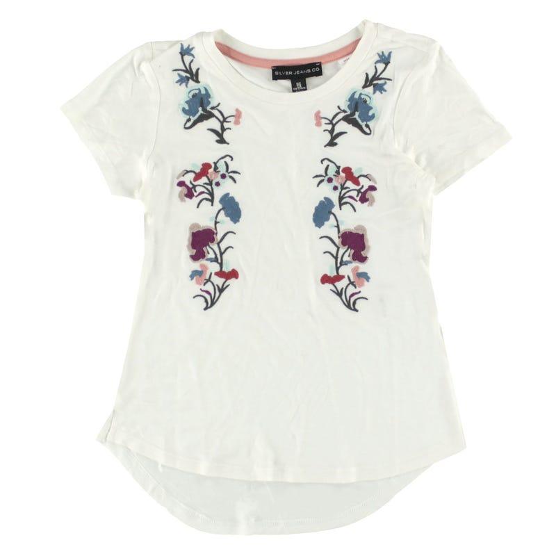 T-Shirt Fleurs 7-16ans