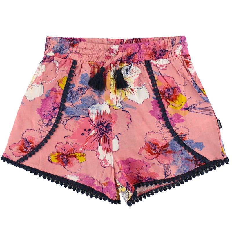 Flowery Shorts 4-6X