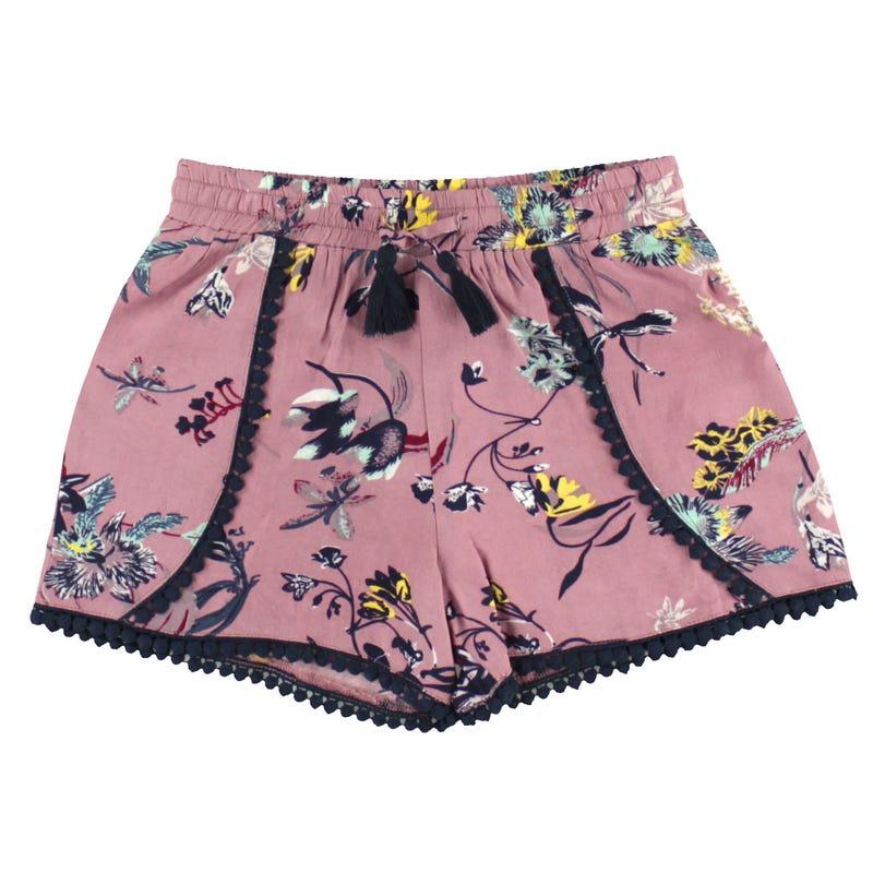 Flowery Shorts 7-16y