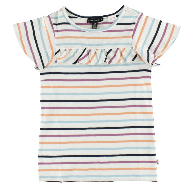 Colorful Striped T-Shirt 4-6X