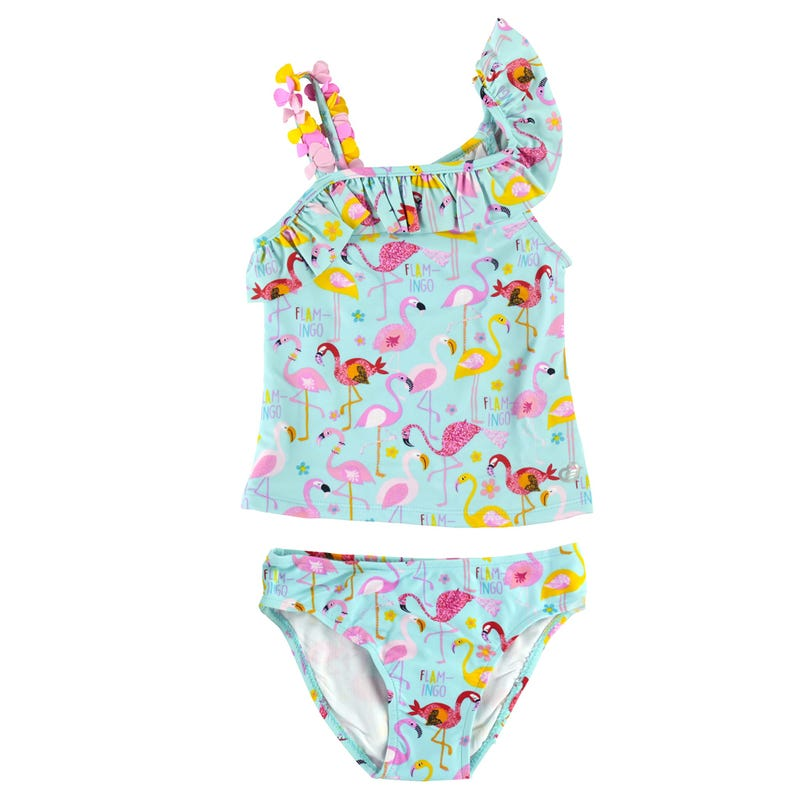 Tankini UV Flamant Rose 2-4