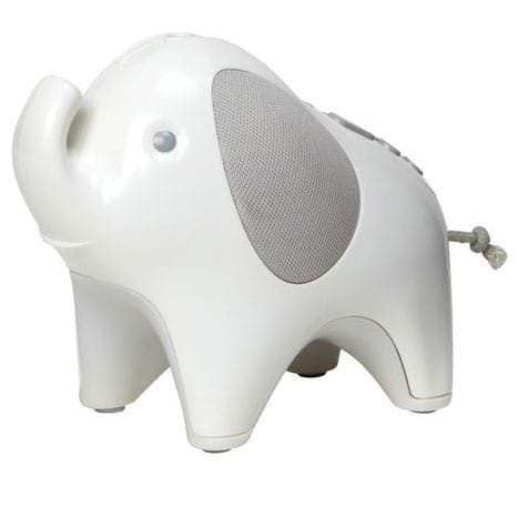 Moonlight and Melodies Nighlight Soother - Elephant