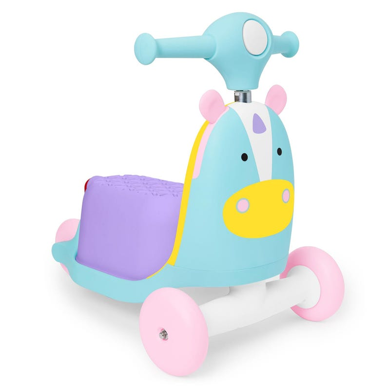 Zoo 3-in-1 Scooter - Unicorn