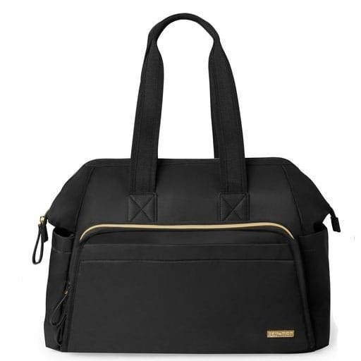 Sac à Couches Mainframe Wide Open Satchel - Noir