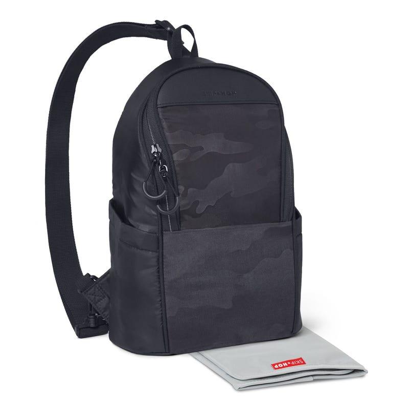 Paxwell Easy-Access Diaper Slin - Black/Camo