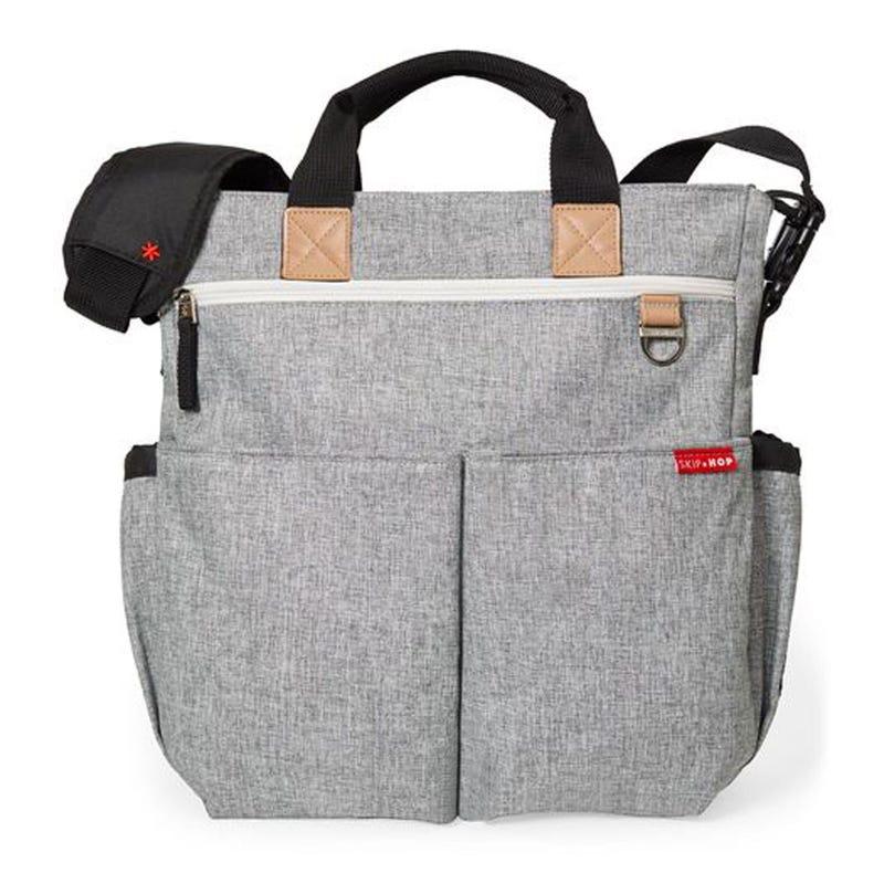 Duo Signature Diaper Bag - Gray Melange