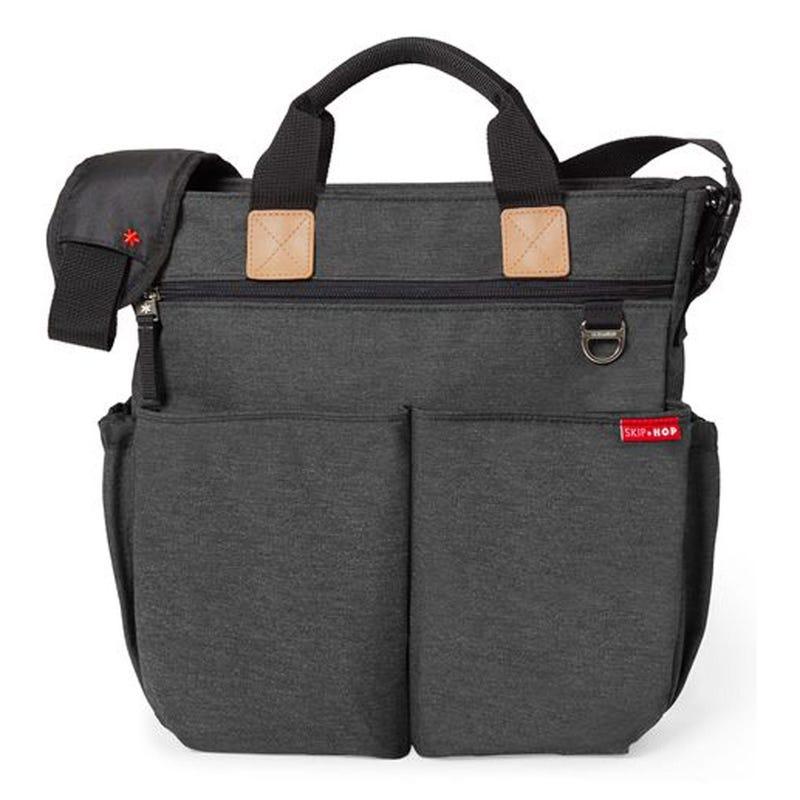 Duo Signature Diaper Bag - Soft Slate