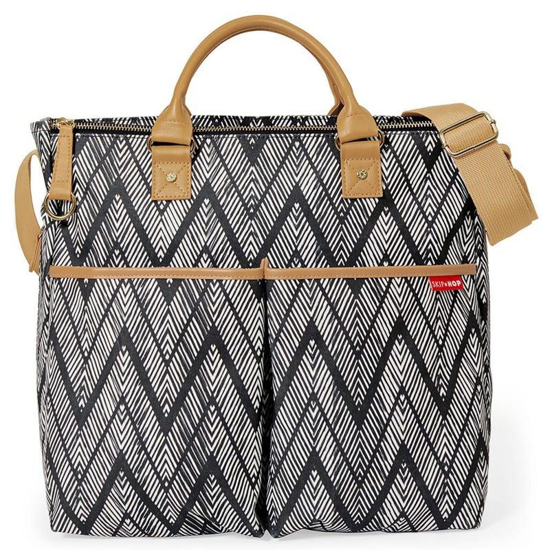 Duo Signature Special Edition Diaper Bag - Zig Zag Zebra