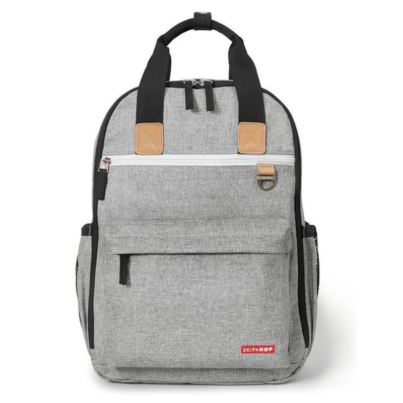Duo Diaper Backpack - Gray Melange