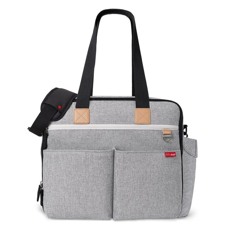 Sac à Couches Duo Week-Ends - Gris