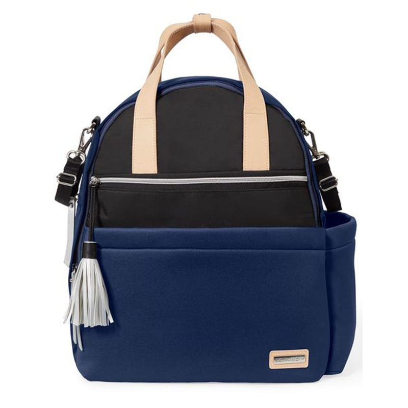 Nolita Neoprene Diaper Backpack - Navy Blue