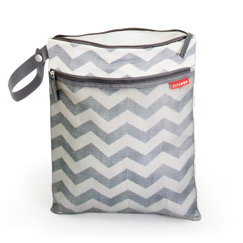 Grab and Go Wet/Dry Bag - Chevron