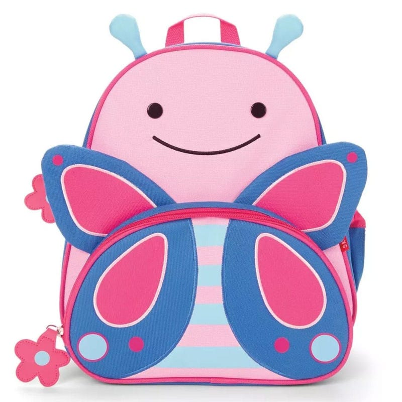 Zoo Little Kid Backpack - Butterfly