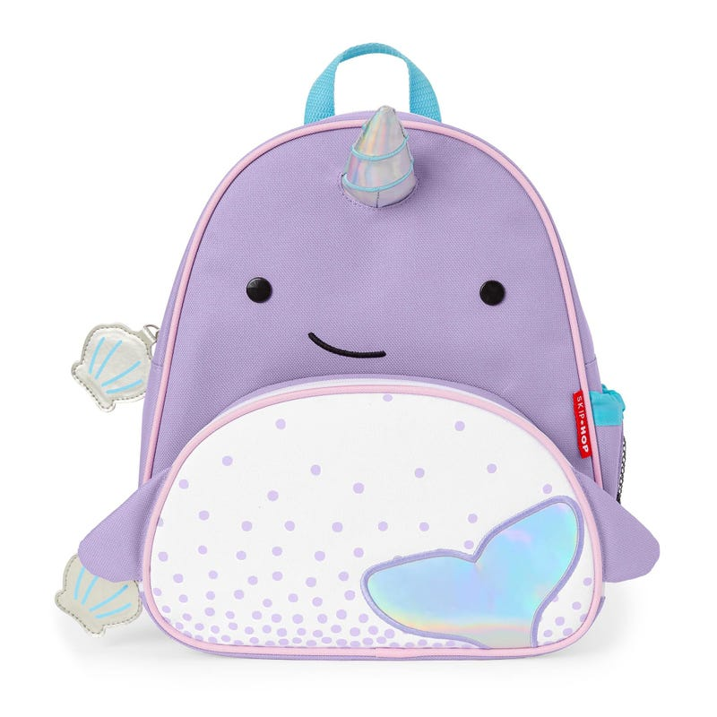 Zoo Little Kid Backpack - Narwhal