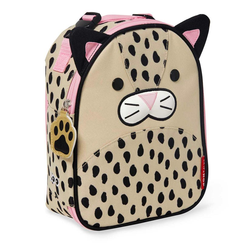 Zoo Lunchie Insulated Kids Lunch Bag - Leopard