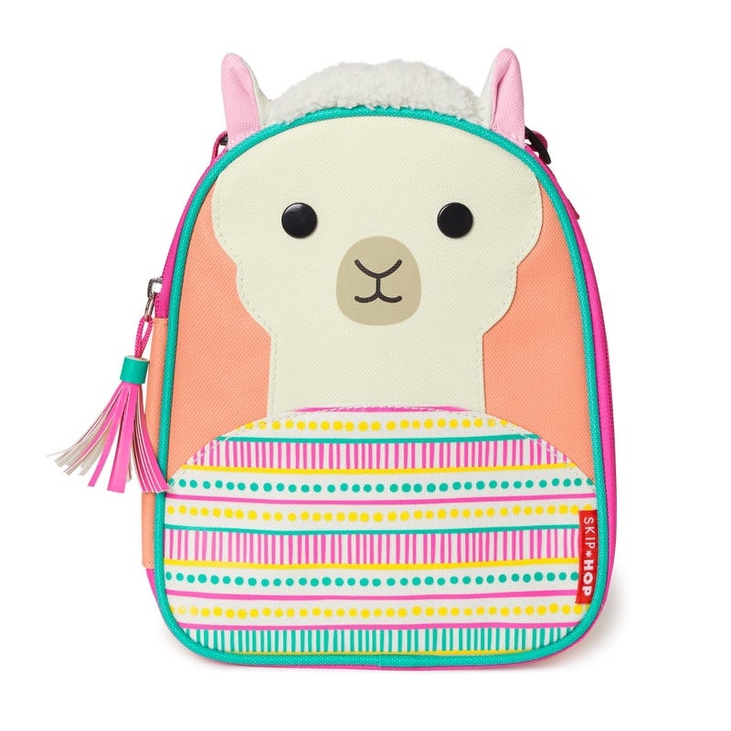 Zoo Lunchie Insulated Kids Lunch Bag - Llama