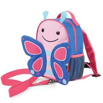 Zoo Safety Harness Backpack - Butterfly