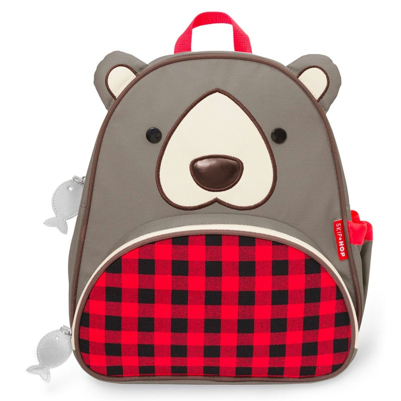 Zoo Little Kid Backpack - Bear