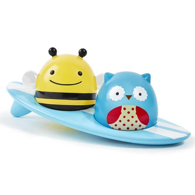Zoo Light-Up Surfers Bath Toys - Owl/Bee