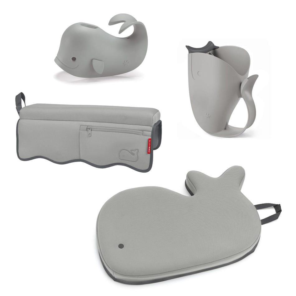 13c735a45ff5 Skip Hop Kit (4) Bath Whale Grey - Clement