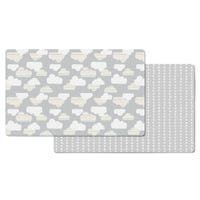 Doubleplay Reversible Play Mat - Clouds