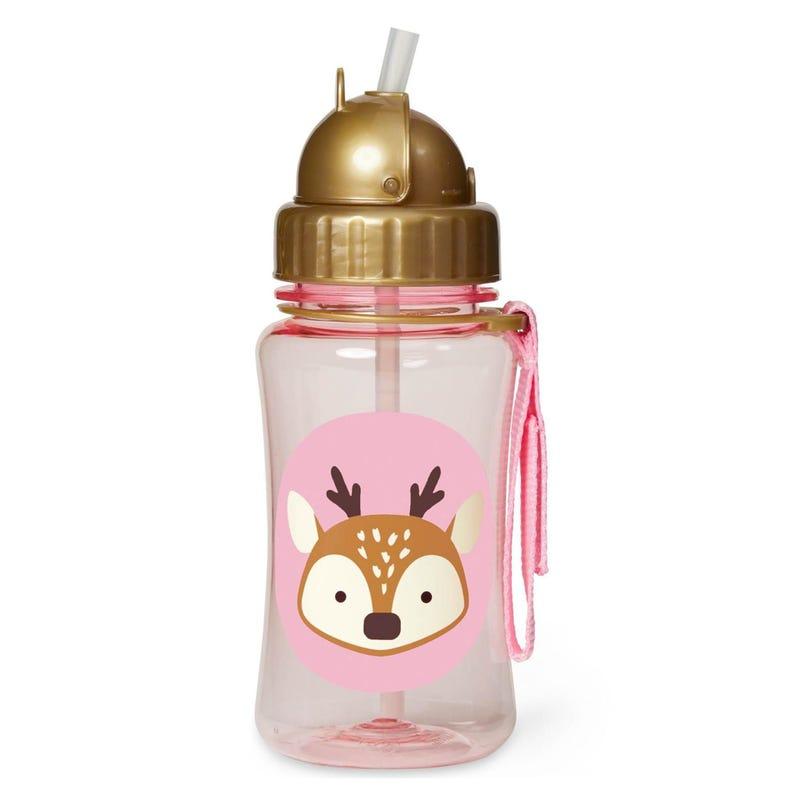 Zoo Straw Bottle - Deer
