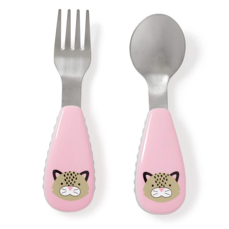 Cuillère et Fourchette- Leopard