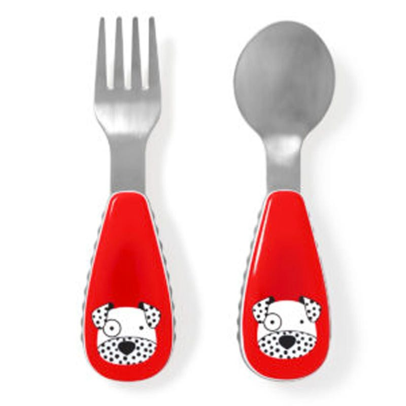 Zoostensils Fork and Spoon - Fox