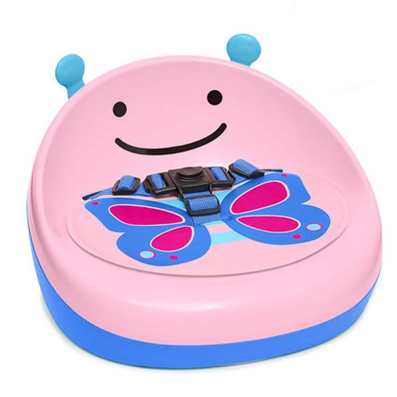 Zoo Booster Seat - Butterfly