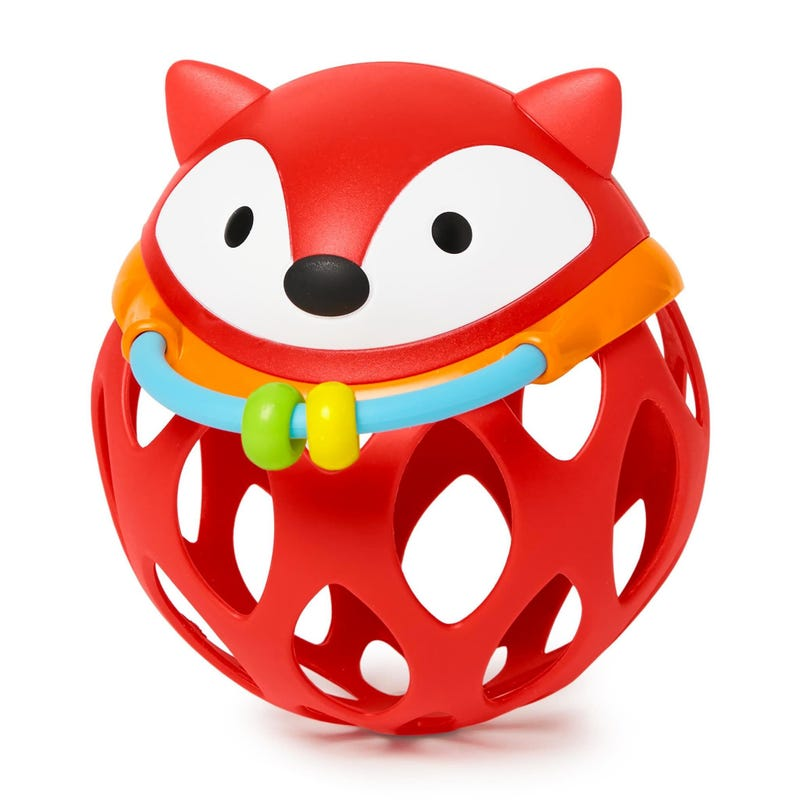 Explore and More Roll-Around Rattle - Fox