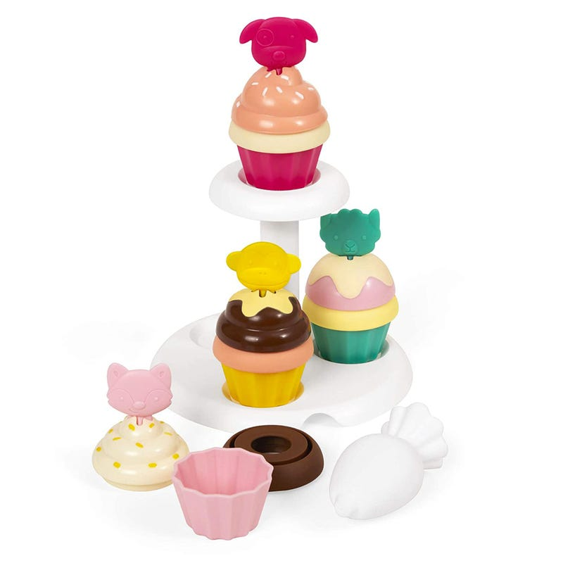 Sort and Stack Cupcakes kit