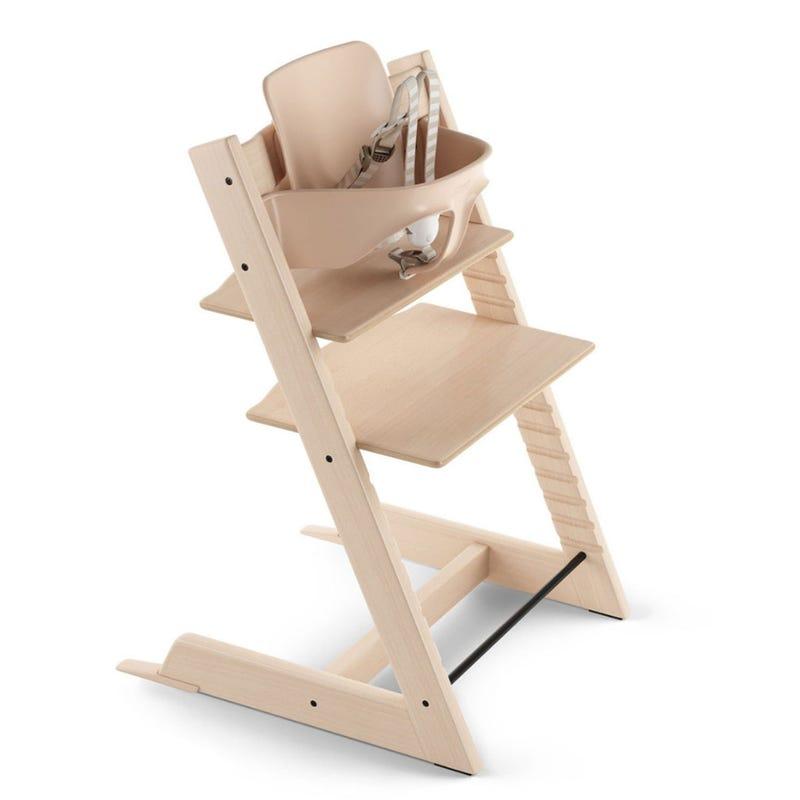Chaise Haute Tripp Trapp® + Tripp Trapp® Baby Set - Naturel