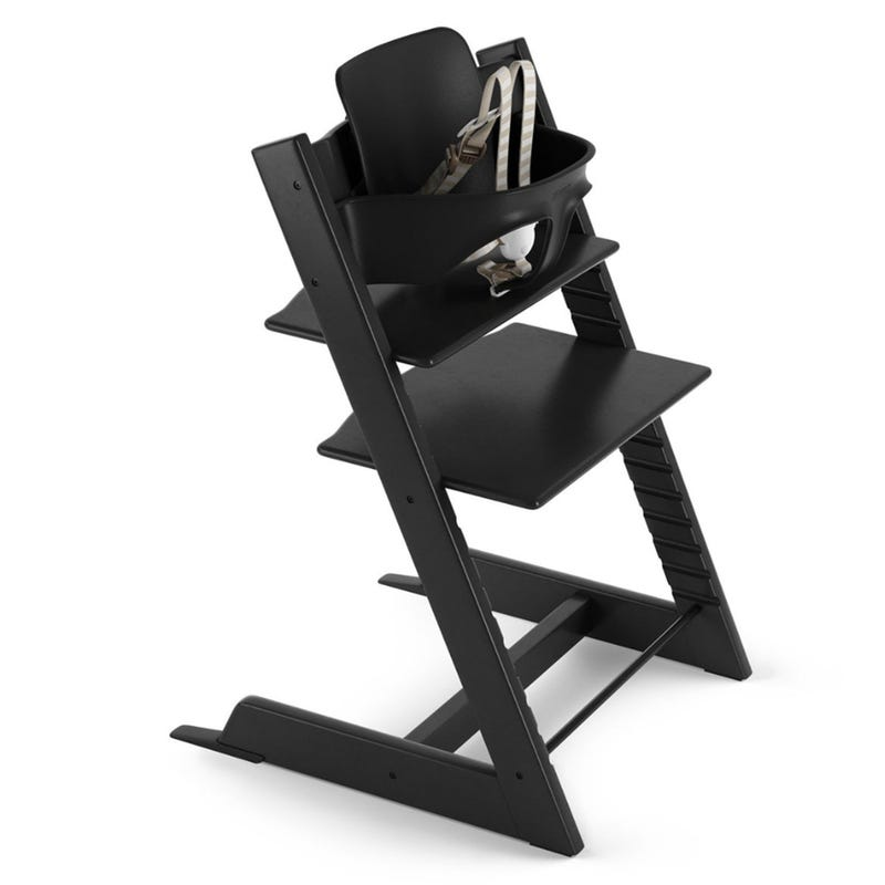 Tripp Trapp + Baby Set -Black