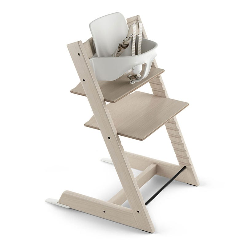 Tripp Trapp + Baby Set - Whitewash