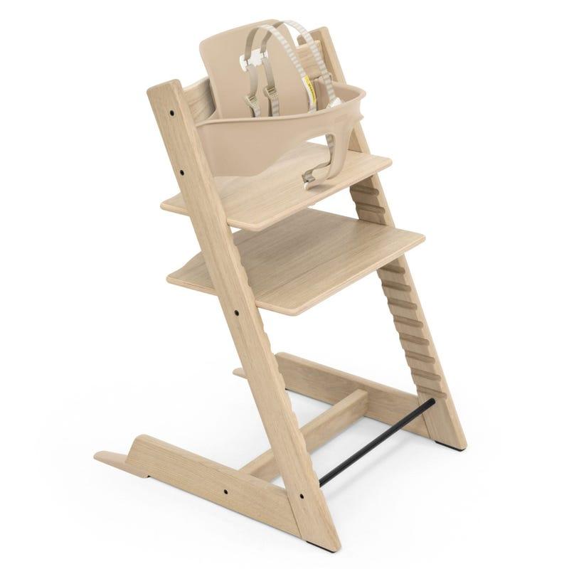 Chaise Haute Tripp Trapp® + Tripp Trapp® Baby Set - Chêne Naturel