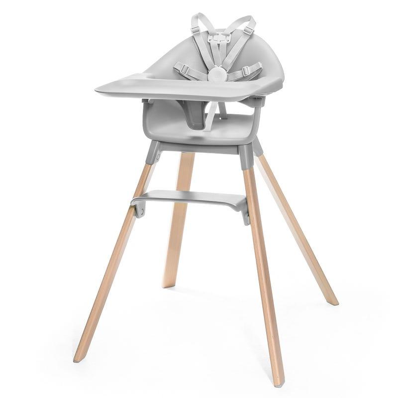 Chaise Haute Clikk - Gris Nuage
