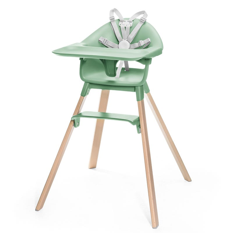 Chaise Haute Clikk - Vert Trèfle