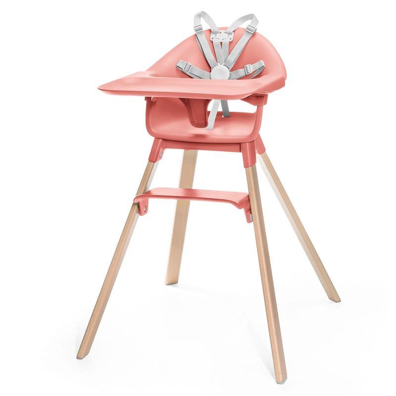 Chaise Haute Clikk - Corail