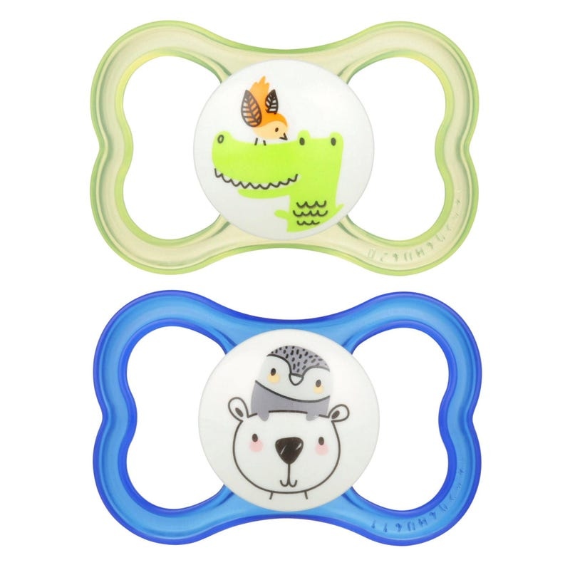 6months+ Pacifiers Set of 2 - Air Blue