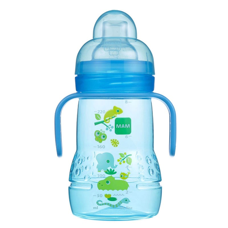 Trainer+ Baby 9oz Bottle and Cup - Blue