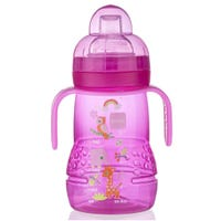 Trainer+ Baby 9oz Bottle and Cup - Pink