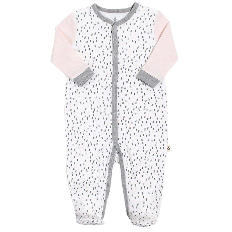 Premature Dots 1 Piece Pajamas 3-5lb