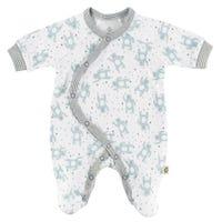 Premature Bear 1 Piece Pajamas 3-5lb