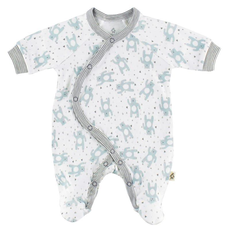 Pyjama Ourson Prématuré 3-5 Lb